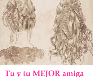 :D, <3, and amigas image