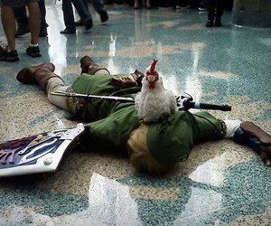 cosplay, link, and game image