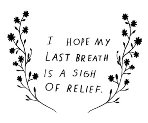 quotes, relief, and hope image