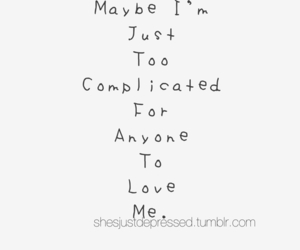 love, complicated, and maybe image