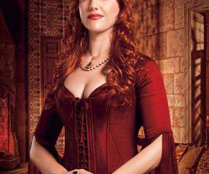 clothes, red hair, and dress image