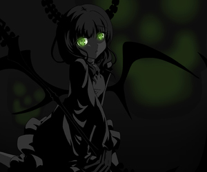 dead master and black rock shooter image