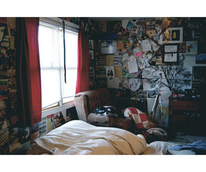 beautiful, bedroom, and color image