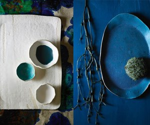 blue, craft, and ceramics image