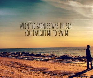 quote, sea, and summer image