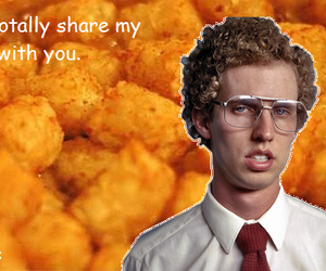 napoleon dynamite, funny, and tots image