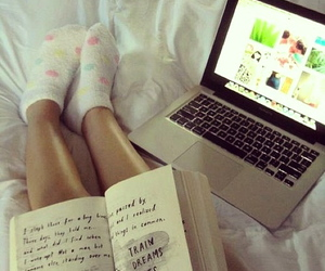 bed, photography, and cute image