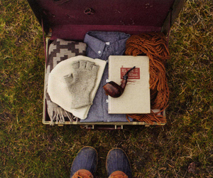 hipster, indie, and suitcase image