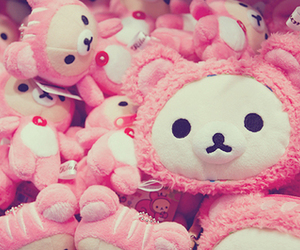 cute, pink, and kawaii image
