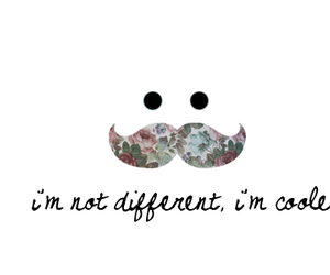 mustache, different, and cool image