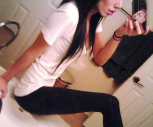 anorexia, mirror, and anorexic image