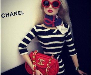 barbie, chanel, and doll image