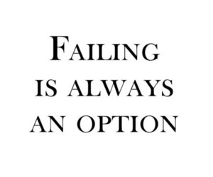 failing, quote, and option image