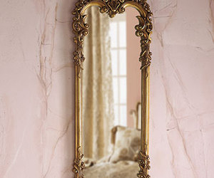 baroque, gold, and mirror image
