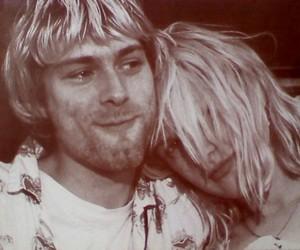 Courtney Love, kurt cobain, and love image