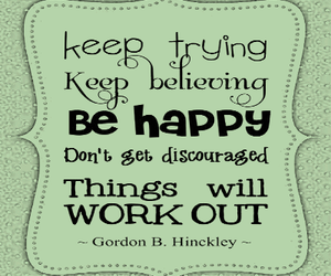 quote and be happy image