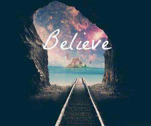 believe, Dream, and quote image