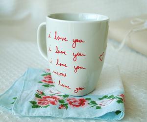 cup, I Love You, and mug image