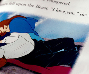 beauty and the beast, disney, and book image