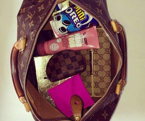 bag, oreo, and Louis Vuitton image