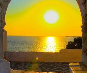 Greece, sunset, and landscape image