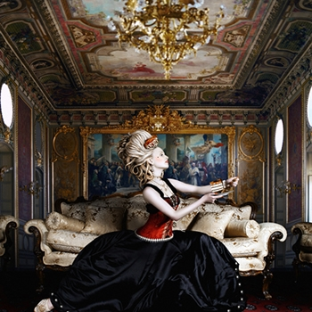 marie antoinette and art image