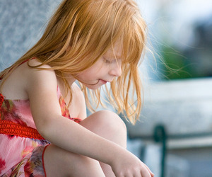 child, girl, and redhead image