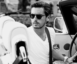 car, scott disick, and boy image