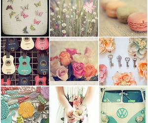 pretty, flowers, and girly image