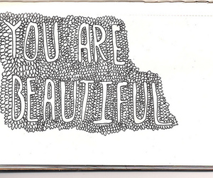beautiful, sketch, and doodle image