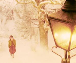 narnia and snow image