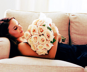 flowers, rose, and natalie portman image