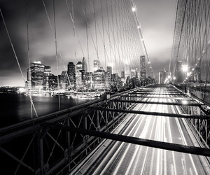 architecture, landscape, and black and white image