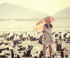 beach, girl, and clothes image