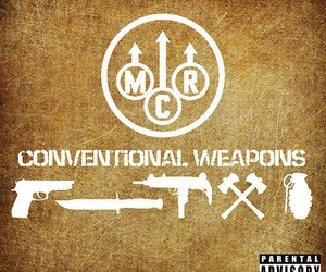mcr, my chemical romance, and conventional weapons image