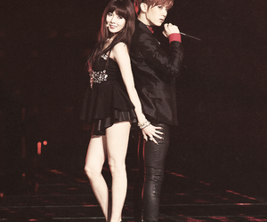 beast, trouble maker, and hyuna kim image