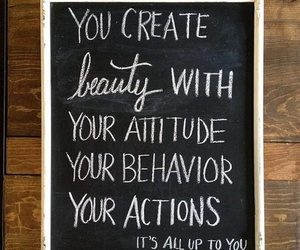 quote, beauty, and attitude image