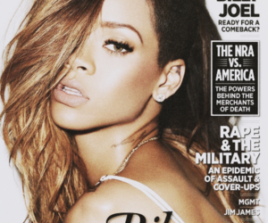 rihanna, rolling stone, and hair image