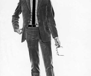anthony perkins, suit, and tie image