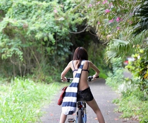 bicyle, girl, and photography image