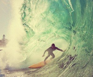 summer, sea, and surf image