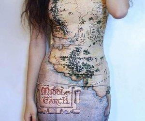 boy, dress, and earth image