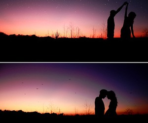 couple, crush, and sky image