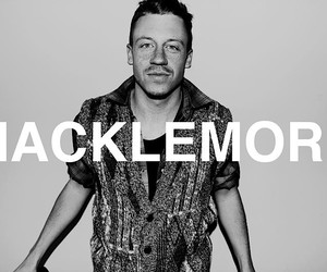 macklemore, music, and black and white image