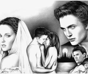 bella, edward, and twilight image