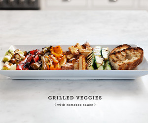 grilled and vegetable image