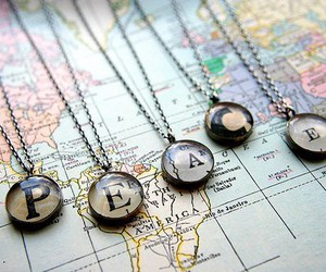peace, map, and world image