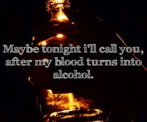 alcohol, blood, and call image