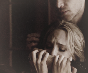 the vampire diaries, caroline forbes, and klaroline image