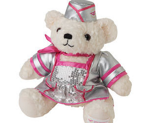 bear, doll, and flower power image